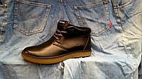 Ботинки мужские зимние Tommy  кожаные