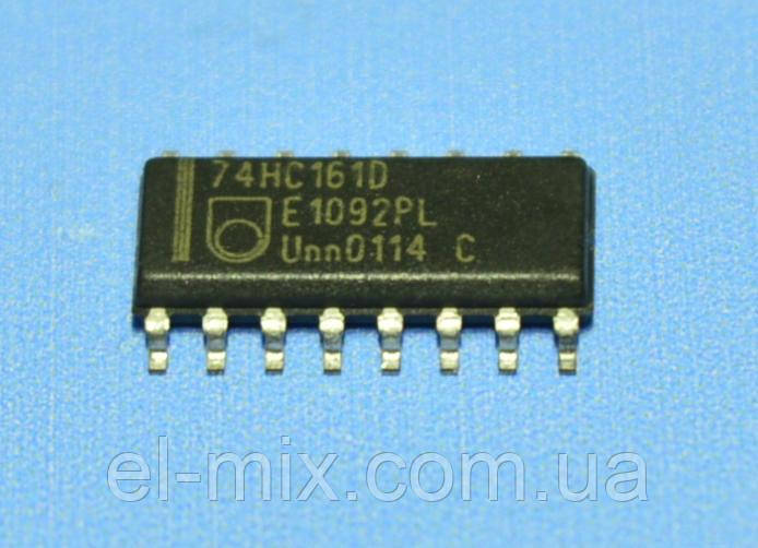 Микросхема 74HC161D(smd)  so16  Philips