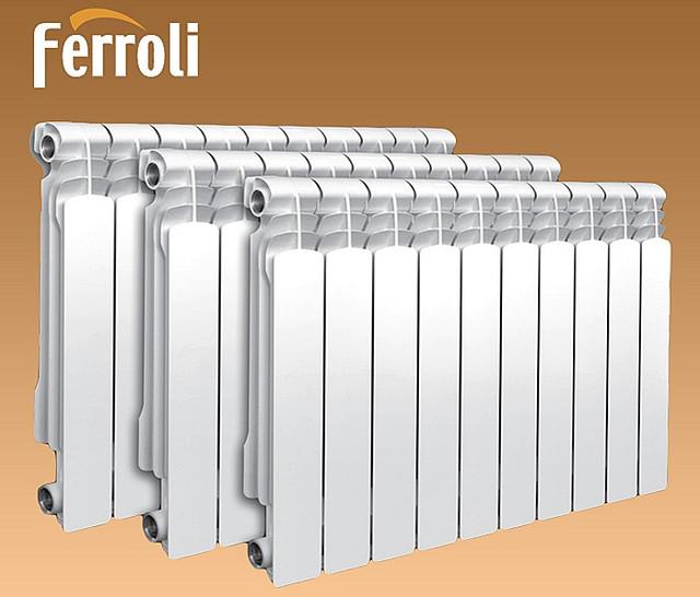 Алюминиевые радиаторы FERROLI
