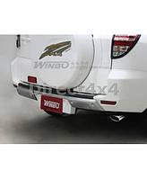 Накладки на задний бампер Toyota RAV4 2006-2010