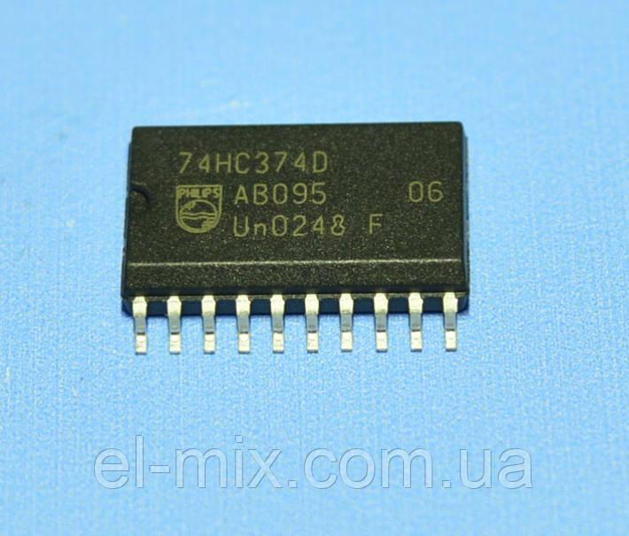 Микросхема 74HC374D(smd)  so20  Philips