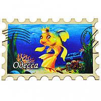 "Магнит на холодильник №3 - марка ""Золотая рыбка"" Одесса"