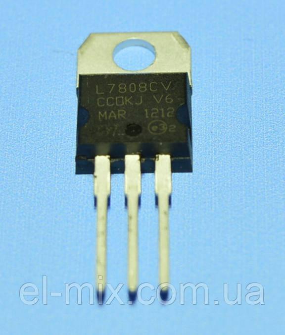Микросхема 7808 (L7808CV) (dual)  TO-220  STM/China