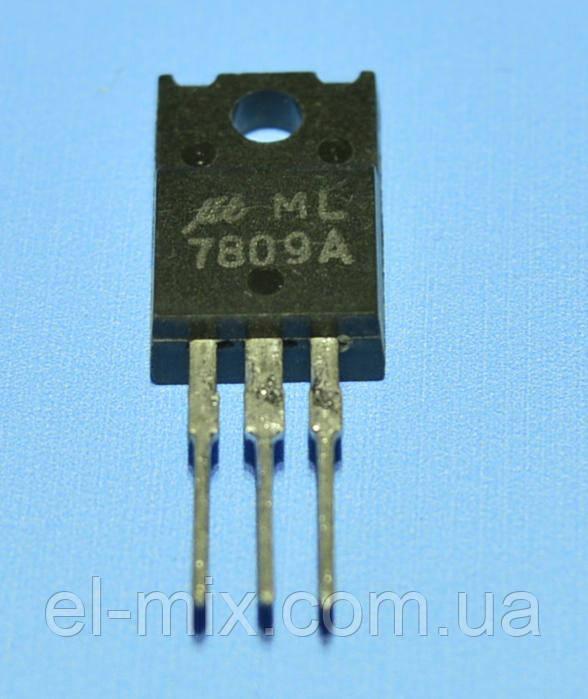 Микросхема 7809   TO-220 iso