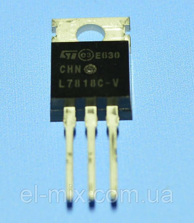 Мікросхема 7818 (L7818CV) (dual) TO-220 STM
