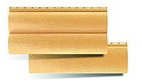 Виниловый сайдинг блок хаус золотистый, фото 1