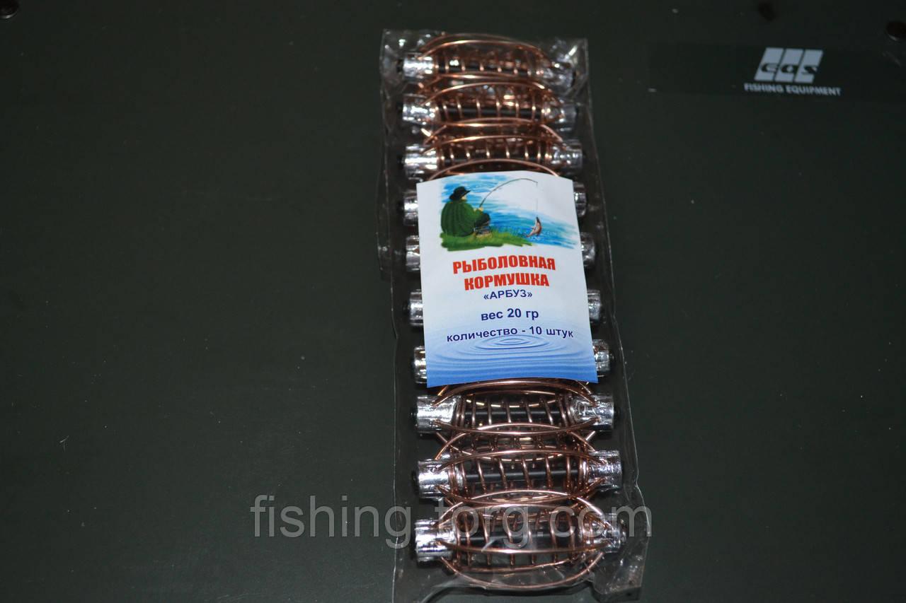 Кормушка арбуз\груша неокрашенный 20 грамм