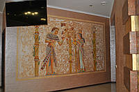 Художественная роспись в древнеегипетском стиле
