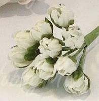 Бутоны белые 5 шт., фото 1