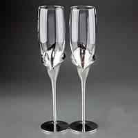 Свадебные бокалы Каллы