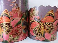 Формы для выпечки бумажные пергамент 130*85 Бабочки