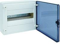 VS112TD Hager GOLF Щит  12-модулей с прозрачными дверями VS112TD (накладной монтаж)