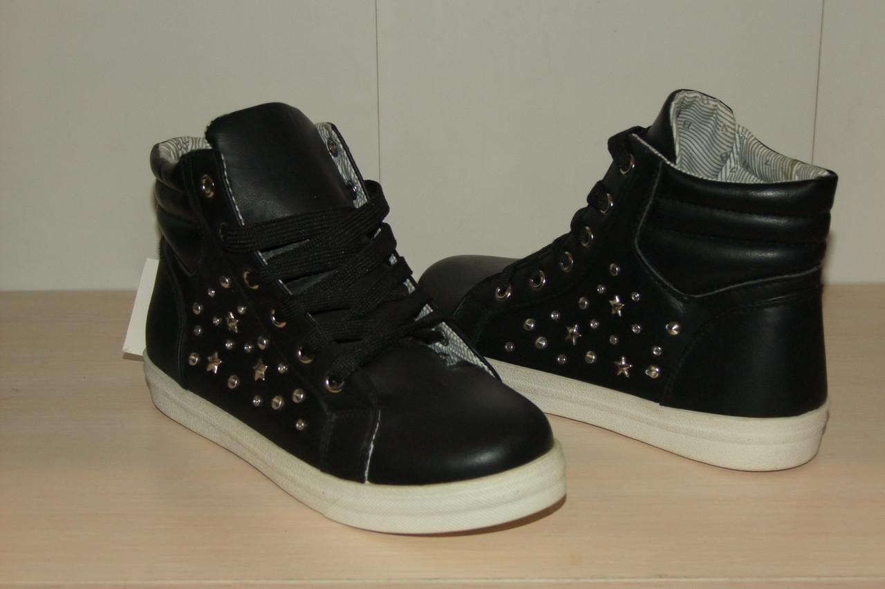 Ботиночки женские 36-41 р черные.