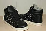 Ботиночки женские 36-41 р черные., фото 2