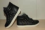 Ботиночки женские 36-41 р черные., фото 3