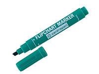 Маркер Centropen Flipchart  скошеный зеленый, 8560