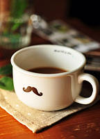 Чашка кувшин  усы Moustache Zakka