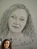 Портрет карандашом на заказ