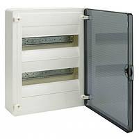 VS212TD Hager GOLF Щит 24-модуля с прозрачными дверями VS212TD (накладной монтаж)