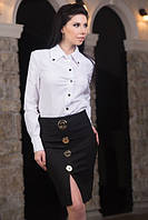 Стильная классическая блузка