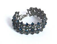 Браслет синие камни