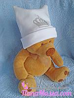 Шапочка для новорожденного малыша , фото 1