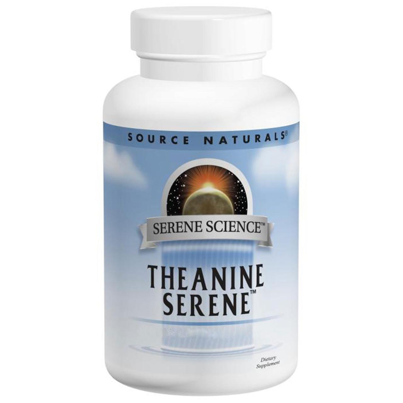 Комплекс  «Теанин Спокойствие», Source Natural, 60 таблеток. Сделано в США.