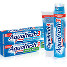 Зубная паста Аквафреш ― разноцветная профилактика