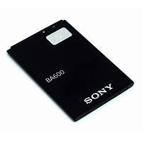 Оригинальный аккумулятор Sony BA600