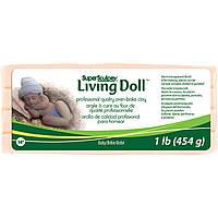"""Запекаемая полимерная глина Living Doll (ливингдолл). """"Beby"""""""