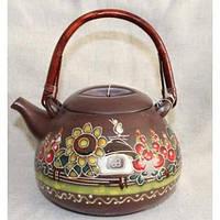 """Глиняная посуда """"Чайник большой Хуторок"""""""