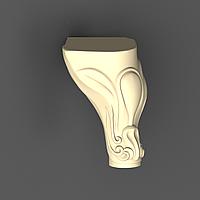 Ножка 70 - 110х75х80 мм, фото 1