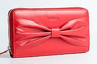 Красный кошелек на змейке Prensiti 42004