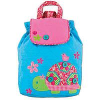 "Стеганый рюкзак ""Черепаха"" - STEPHEN JOSEPH, фото 1"