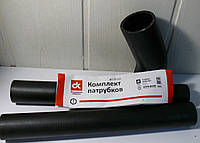 Патрубок радиатора МАЗ 500 (комплект 3 шт.) СТАНДАРТ <ДК>, фото 1
