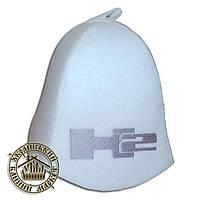 """""""HUMMER"""" / """"Хаммер"""", шапка для бани (Э), белая"""