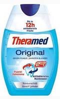 Зубная паста - ополаскиватель Оригинал с антибактериальным эффектом Theramed 2in1 Original 75 мл.