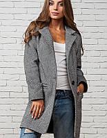 Легкое пальто | Мечта leo серый