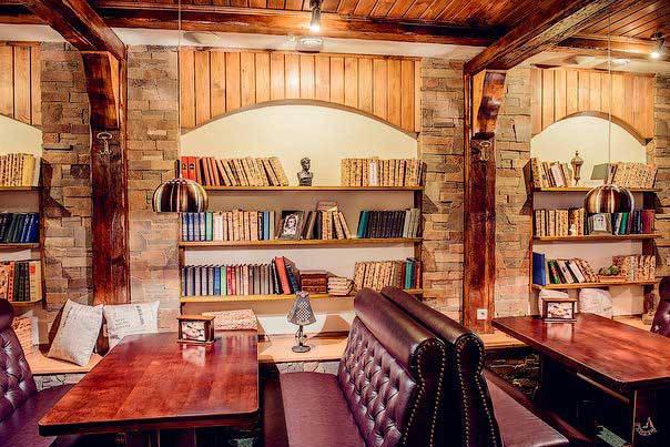 """Ресторан """"Пивная библиотека"""", г.Полтава 3"""