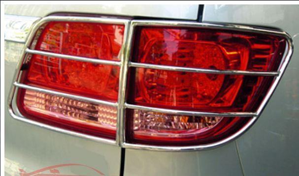 Защита задних фонарей Toyota Fortuner 2005-2015