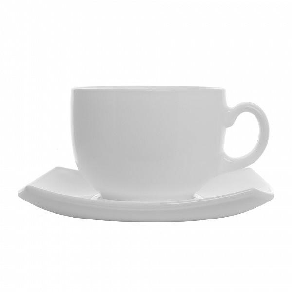 Quadrato White Сервиз чайный 220 мл -12 пр. Luminarc E8865