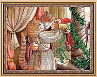 """Схема для вышивки бисером с кошками """"Ромео и Джульетта"""", фото 1"""
