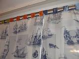 Японские занавески Кораблики на петлях, фото 3