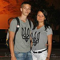 """Пара футболок """"Тризуб"""""""