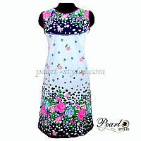 Платье с купонным рисунком