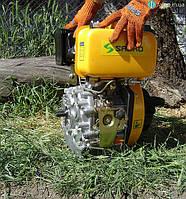 Дизельный двигатель Sadko DE-300ME (6 л.с., электростартер, шлицы)