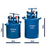 Автоклав бытовой 24 банки 0.5л  (2мм) для домашнего консервирования, фото 5