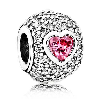 Подвеска-шарм «Пленительное сердце» в стиле Pandora