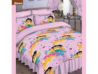 """Подростковые  комплекты постельного белья, ткань ранфорс, """"Даша"""""""