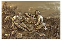 Картина резная из дерева